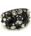 Black-White Vintage Metal Bracelet
