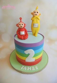 Image result for teletubbies cake
