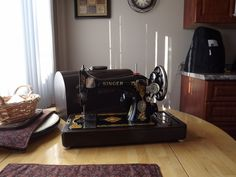 vintage Singer Machine