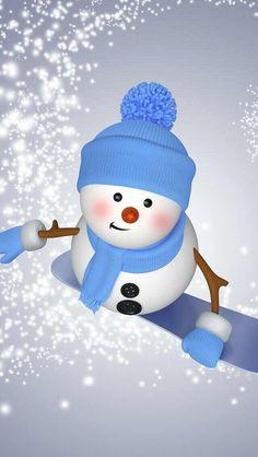 Snowman Cute Christmas New Year hd wallpaper Christmas Clipart, Christmas Printables, Christmas Snowman, Christmas And New Year, Winter Christmas, Christmas Holidays, Merry Christmas, Winter Wallpaper, Holiday Wallpaper