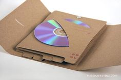 a-day: 20 formas creativas de empaquetar un CD