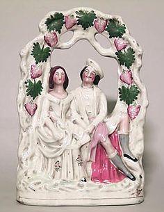 English Victorian figure small figure porcelain