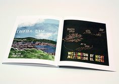 Spread from 'The Wellington Book', Published by Fitzbeck Creative, 2011. Design Director / Michael Fitzsimons / Nigel Beckford.