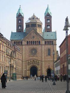 Fachada de la catedral de Spira