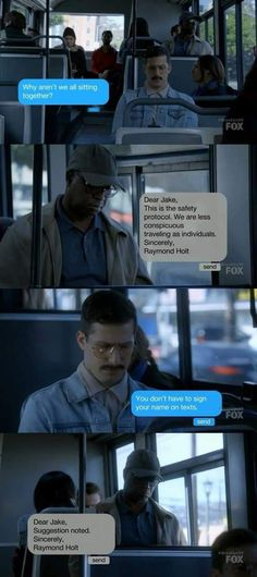 Funny Texts Collection From Brooklyn Nine-Nine - Funny Troll & Memes 2019 Brooklyn Nine Nine Funny, Brooklyn 9 9, Detective, Jake Peralta, Memes, Parks N Rec, Cinema, Humor, Best Tv Shows