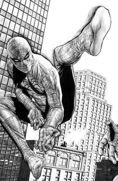 Spider-man by Lee Bermejo