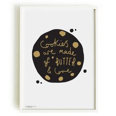 Cookie A4 Print  Baking print by OldEnglishCo on Etsy, £15.00