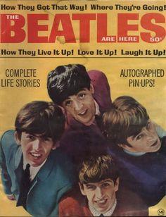 Beatles Magazine Cover