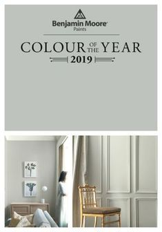 Cottage Home Interior Benjamin Moore 2019 Color of the Year / My living room color / Home Decor / Paint Colors / Aura Paint / Affinity Colors