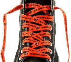 dcd723692d71d2 Sports-Football-Cincinnati Bengals-Shoe Laces Footwear