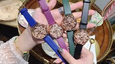 Cool Watches For Women, Watch Video, Make Time, Bottle, Unique, Leather, Fashion, Moda, Fashion Styles