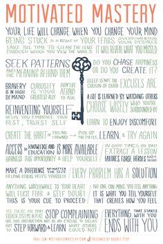 Manifesto of Motivated Mastery