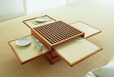 Expandable Table by Sculptures Jeux