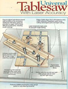 #2402 Table Saw Miter Sled Plans - Table Saw