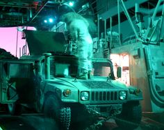 Navy Wants Lasers on Marines' Trucks to Shoot Down Drones