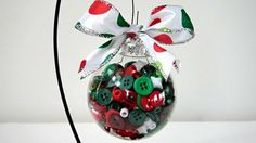 LOVE this ornament - and it would super easy and quick to make!