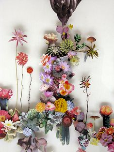 ❀  ❀ ❀   Flower constructions  ❀ ❀ ❀                              Anne Ten Donkelaar
