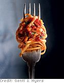Recipe for Spaghetti al Forno, as seen in the March 2008 issue of O, The Oprah Magazine.