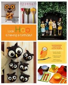 Owl Themed Child's Birthday Party