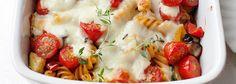 Zapiekanka makaronowa z warzywami i mozzarellą | Blog | Kwestia Smaku