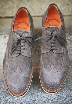 Wouldn't be mad about seeing a pair of these strut my way with a gentleman inside. THAT GREY SUIT ABOVE, WITH THESE SHOES...MMM.