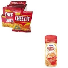 - Value Kit - Coffee-mate Original Lite Powdered Creamer and Kellogg's Cheez-It Crackers Milk Substitute For Cooking, Non Dairy Coffee Creamer, Gourmet Recipes, Snack Recipes, Milk Allergy, Drinking Tea, Crackers, Chips, Nutrition