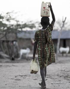Bringing 'sweet water' to Kenya: Samaritan's Purse famine relief.