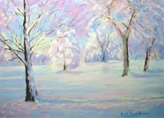 Snow Scene by Bill Truslove