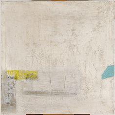 Ahti Lavonen: Valkoinen maalaus, 1961, öljy kankaalle, 110 cmx110 cm - Ateneumin taidemuseo, kuva: Kansallisgalleria / Kirsi Halkola