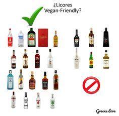 Licores Vegan Fiendly
