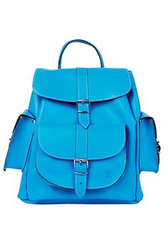 Credit: PR Blue rucksack, £180, by Grafea, from urbanoutfitters.co.uk