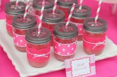 All in Pink Birthday Decorating Ideas