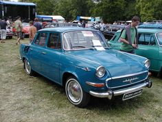 Skoda 1000MB. I used to have one