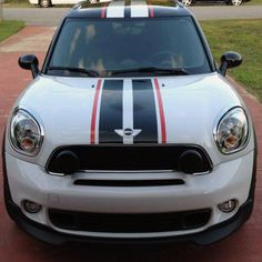 3 Color Rally Stripe Stripes Graphics Decals fit any model Mini Cooper Paceman in eBay Motors, Parts & Accessories, Car & Truck Parts | eBay