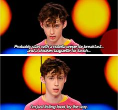 Am I the only one who wants Troye as my brother?