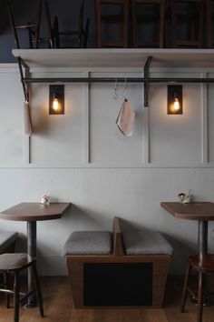 (via The Modern British Delicatessen : Remodelista) Side profile, nice and neat and minimal