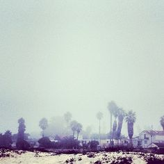 marine layer, ocean beach, ca Photo by @happymundane on instagram