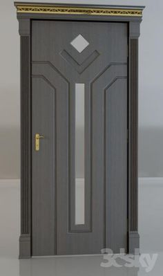 Search for our thousands of Interior Wood Doors available in a variety of designs, styles, and finishes. Room Door Design, Door Design Interior, Main Door Design, Wooden Door Design, Wooden Doors, Gate Design, Door Design Images, Modern Front Door, Modern Entrance Door