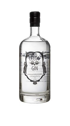 Wish: Leeds Gin from UK (but hard to catch) Bottle Design, Glass Design, Yorkshire Gin, Gins Of The World, Gin Brands, Craft Gin, Alcoholic Drinks, Cocktails, Geneva
