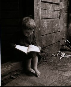 Reminds me of you, Jake. Your love of reading is WONDERFUL! (choose wisely.) ♥ Photo by Balys Buračas (1897 - 1972).
