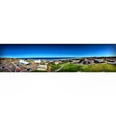 #panorama #shot of #geraldton the #windy #city #hometown #clear #sky #beach #blue #horizon #landscape #bliss #work #wow #sunny #ocean #awsome #australia #high #beautiful #nofilter #igaddict #instagramhub #iphonography #follow #followme