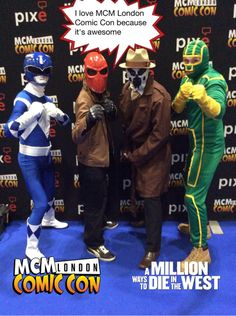 I love MCM London Comic Con because it's awesome #mcmcomiccon #AMILLIONWAYS