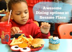 awesome dining options at sesame place by RubyDW, via Flickr