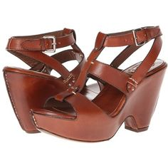 Ariat Coventry Women's Sandals ($66) ❤ liked on Polyvore featuring shoes, sandals, tan, tan sandals, ariat sandals, platform shoes, ankle strap sandals and wrap sandals