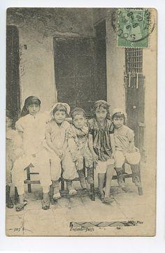 Enfants Juifs, Tunisia, c. 1910
