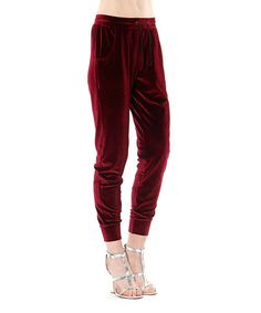 This Wine Rosa Soft Pants is perfect! #zulilyfinds