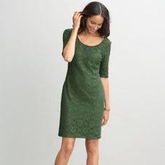 Green Lace Banana Republic Dress