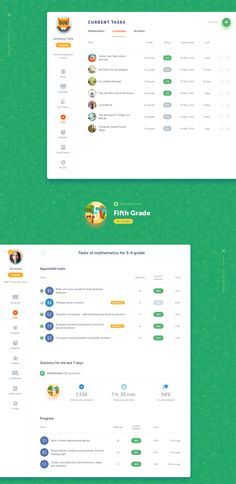 Showcase and discover creative work on the world's leading online platform for creative industries. Web Dashboard, Dashboard Design, Ui Web, Creative Web Design, Web Ui Design, Web Design Company, Teacher Web, Teacher Sites, Learning Web
