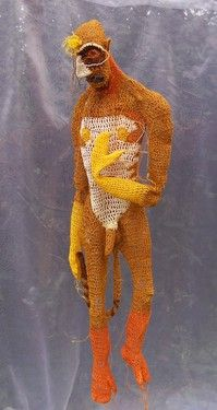 #crochet sculpture #art by Johanna Schweizer