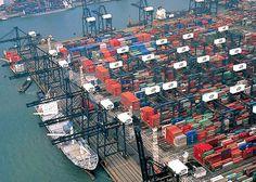 Hong Kong Container port volumes 23.70 (Million TEUS) 2010, 24.38 (Million TEUS) 2011